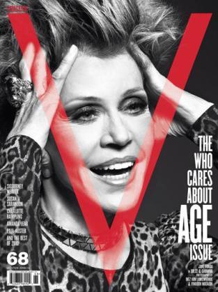 Jane Fonda, de 72 años, es una de las protagonistas de la portada de V Magazine.