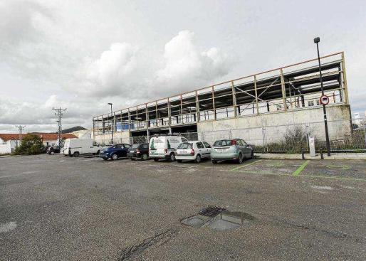 Imagen de la ubicación donde estará localizado el futuro centro de baja exigencia de es Gorg. Foto: DANIEL ESPINOSA