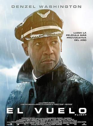 Cartel de la película 'El vuelo'.