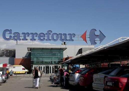 En la imagen, Carrefour del Coll den Rabassa.