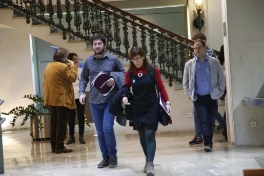 Alberto Jarabo y Laura Camargo, miembros del Consejo de Coordinación.