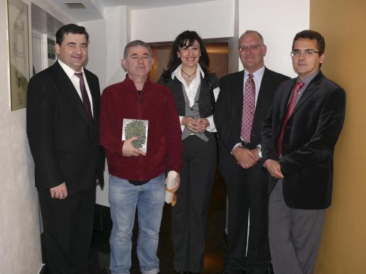 Miguel Estelrich, Tomeu Amengual, María José Montiel, Sebastià Serra y Antoni Planas.