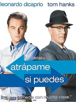 Cartel del film 'Atrápame si puedes'.