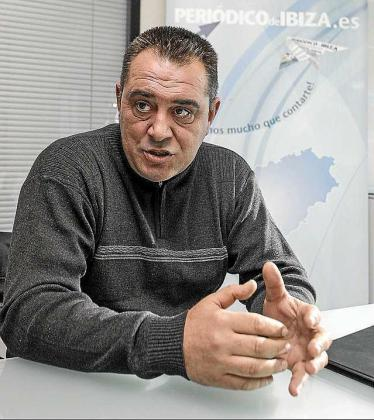 El presidente de la asociación, Pep Tur Vergeró. Foto: D. E.