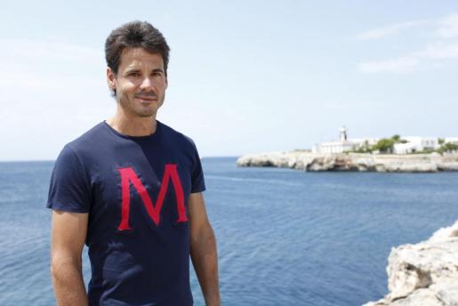 Álex Crivillé, en una fotografía de archivo en Menorca.