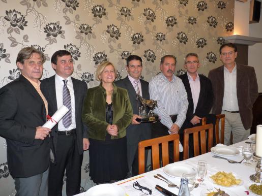 Joan Riera, Joan Mateu, Mercè Amer, Guillem Morlà, Montserrat Pons i Boscana, Joan Comes y Josep Lliteres.