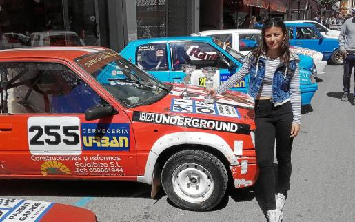 Micaela Tur Leguiza aún no posee el carnet de conducir, pero cuenta con un portentoso talento innato para el volante.