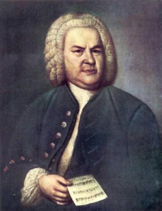 En la imagen, el retrato del compositor alenán Johann Sebastian Bach.