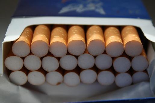 Imagen de un paquete de tabaco.