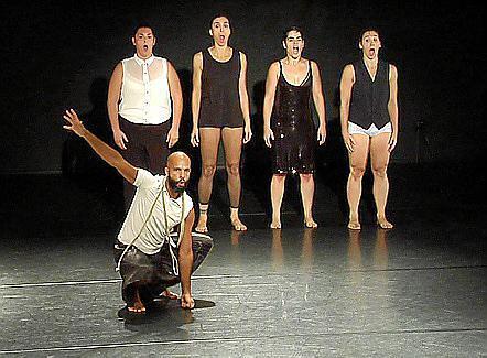 La bra de danza Crotch de la compañía Baal.