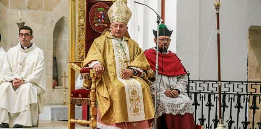 El obispo Vicent Juan Segura.