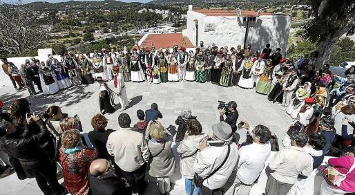Imagen de archivo de las Festes de Maig de Santa Eulària.