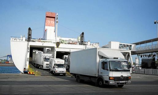 El puerto de Palma supera los nueve millones de toneladas.