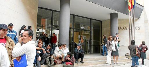 Imagen de la sede judicial de sa Gerreria, una de las más afectadas por los parones informáticos.