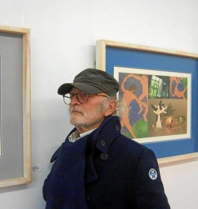El argentino Juan Blanco en Garden Art Gallery.