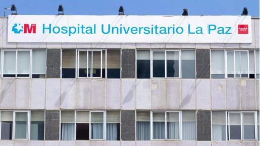 Imagen de la fachada del hospital madrileño de La Paz.