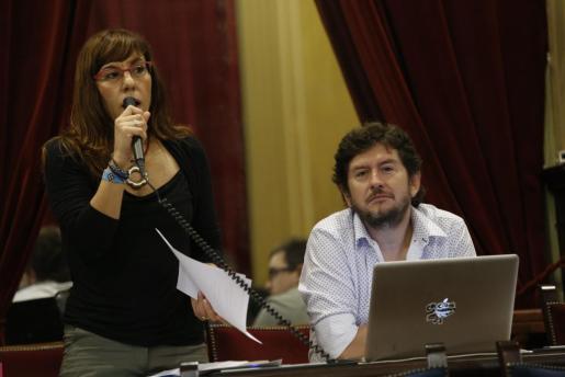 El PSIB ha mencionado a Laura Camargo o Alberto Jarabo para que ocupen la presidencia del Parlament.