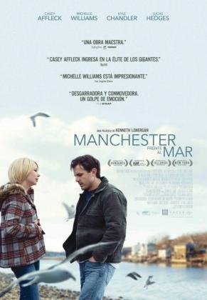 Cartel de 'Manchester junto al mar'.