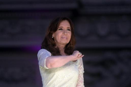 En la imagen, la expresidenta argentina Cristina Fernández de Kirchner.
