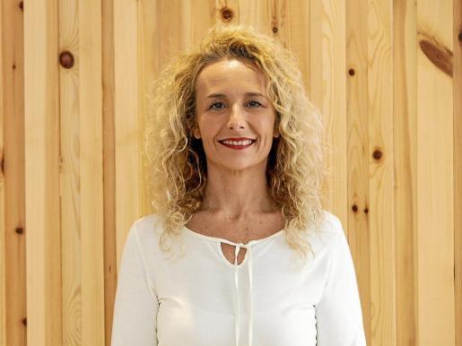 Helena Benlloch en las instalaciones municipales del Ayuntamiento de Sant Josep.