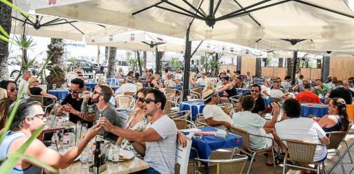 En marzo del año pasado se registró un incremento del 35% en la llegada de turistas a Ibiza.