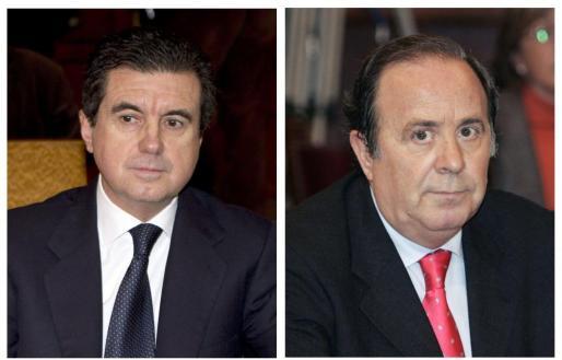 Jaume Matas y José María Rodríguez.