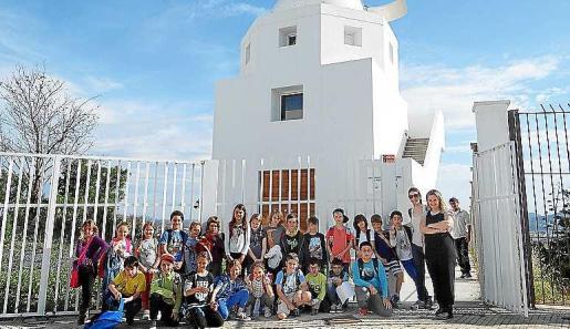 Visita del colegio S'Olivera.
