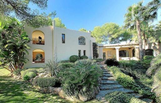 Imagen de una mansión de lujo de la isla valorada en 6 millones de euros.