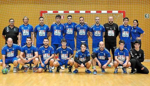El equipo sénior masculino del Puchi lidera en solitario su grupo en la Segunda División Nacional.