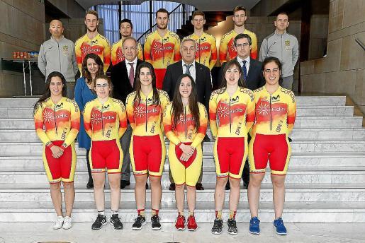El equipo nacional español que competirá en Colombia en la tercera prueba de la Copa del Mundo.