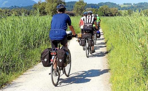 Una imagen de una ruta cicloturista. Foto: AYUNTAMIENTO DE EIVISSA