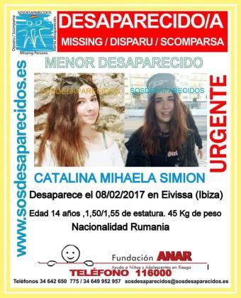 Catalina Mihaela Simon, de nacionalidad rumana, mide entre 1,50 y 1,55 metros y tiene un peso de unos 45 kg.