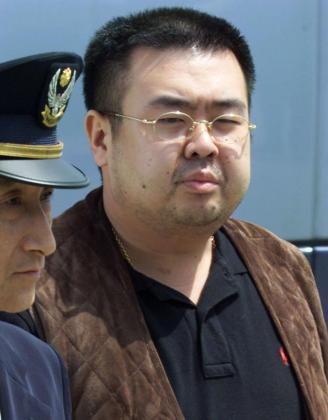 Kim Jong-nam durante su detención en el aeropuerto de Tokio el año 2001.