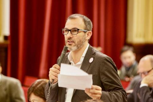 En la imagen, el vicepresidente y conseller de Innovació, Investigació i Turisme, Biel Barceló.