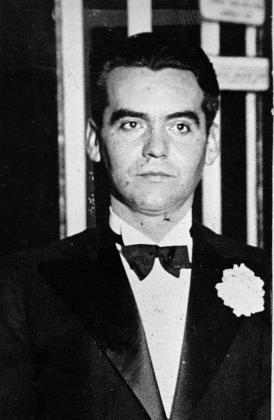 Imagen del poeta Federico García Lorca.