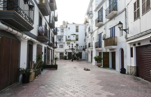Imagen de archivo del barrio de La Marina.