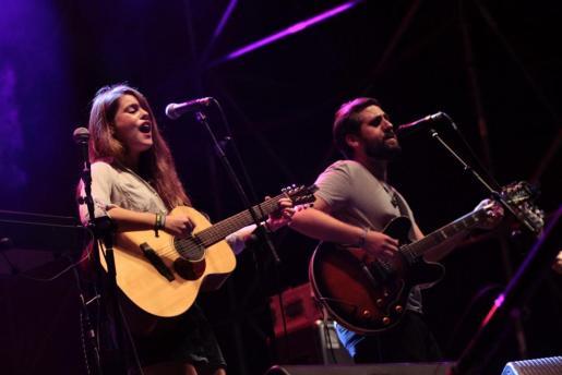 Donallop, durante su actuación el pasado mes de septiembre en el Festival Solarnit.