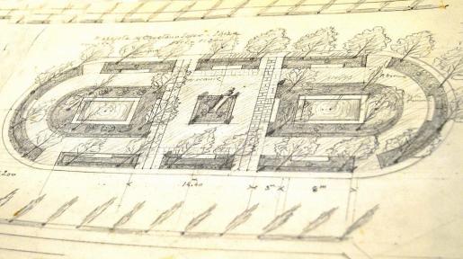 Proyecto ideado para la plaza que a mediados del siglo pasado se llamaba Plazoleta Cayetano Soler.