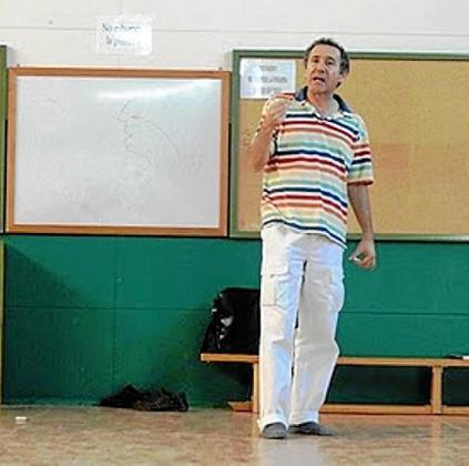 El educador y escritor José María Toro, en una imagen de archivo.
