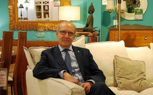 Miquel Gual es el gerente de Pòrtic Mobles.