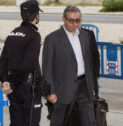 El exsocio de Iñaki Urdangarin, Diego Torres, en una imagen de archivo del juicio del caso Nóos.