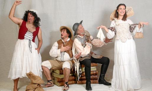 Una imagen promocional de la obra 'El Libro Andante' que la compañía Musicaldansa estrenará mañana domingo en Can Ventosa.