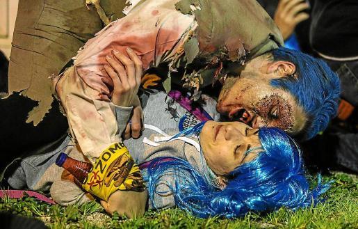Objetivo: no morir a manos de un zombie.