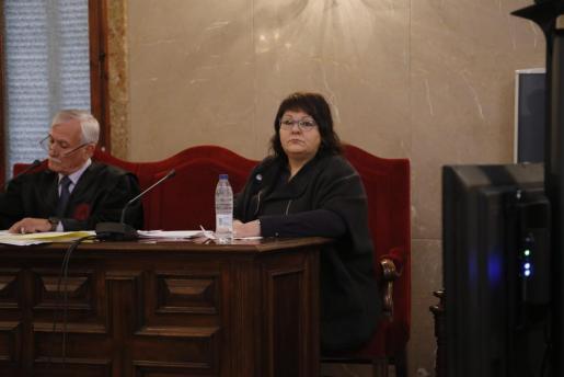 En la imagen, la exconcejal de Ciutadella, Antonia Salord.