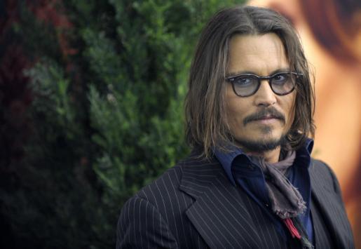 El actor estadounidense Johnny Depp es la estrella del año según la base de datos sobre cine Imdb.