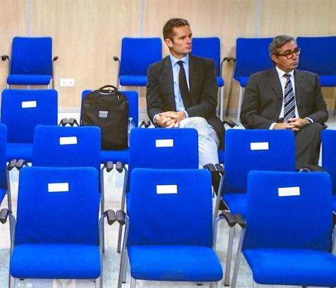 Urdangarin y Diego Torres volverán a sentarse en un banquillo de la Audiencia Provincial.
