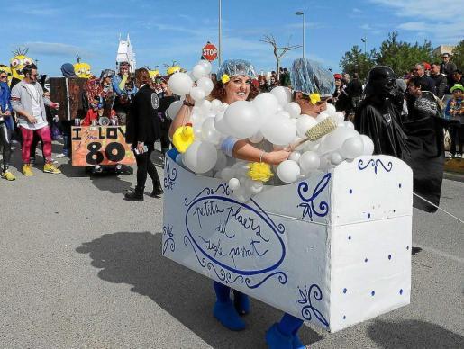 La rúa de Carnaval de Formentera partirá a las 12.00 horas desde el aparcamiento de Sa Senieta, en Sant Francesc.