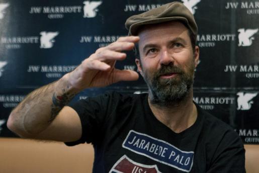 El cantante de Jarabe de Palo no ha cancelado la gira del grupo pese a luchar de nuevo contra el cáncer.
