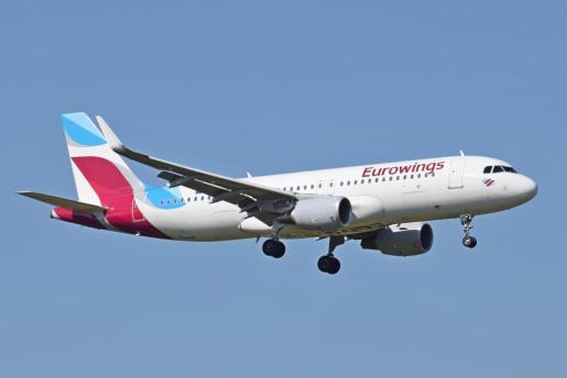 Imagen de archivo de uno de los aviones de la compañía Eurowings.