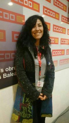 Isabel Bernardo es la nueva secretaria general de la Federación de Sanidad y Sectores Sociosanitarios de Comisiones Obreras (FSS-CCOO) en Baleares.